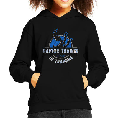 Raptor Trainer In Training Jurassic World Kid's Hooded Sweatshirt by yipptee - Cloud City 7