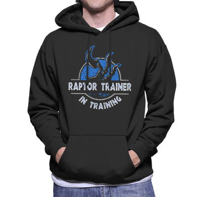 Raptor Trainer In Training Jurassic World Men's Hooded Sweatshirt by yipptee - Cloud City 7