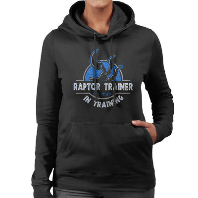 Raptor Trainer In Training Jurassic World Women's Hooded Sweatshirt by yipptee - Cloud City 7