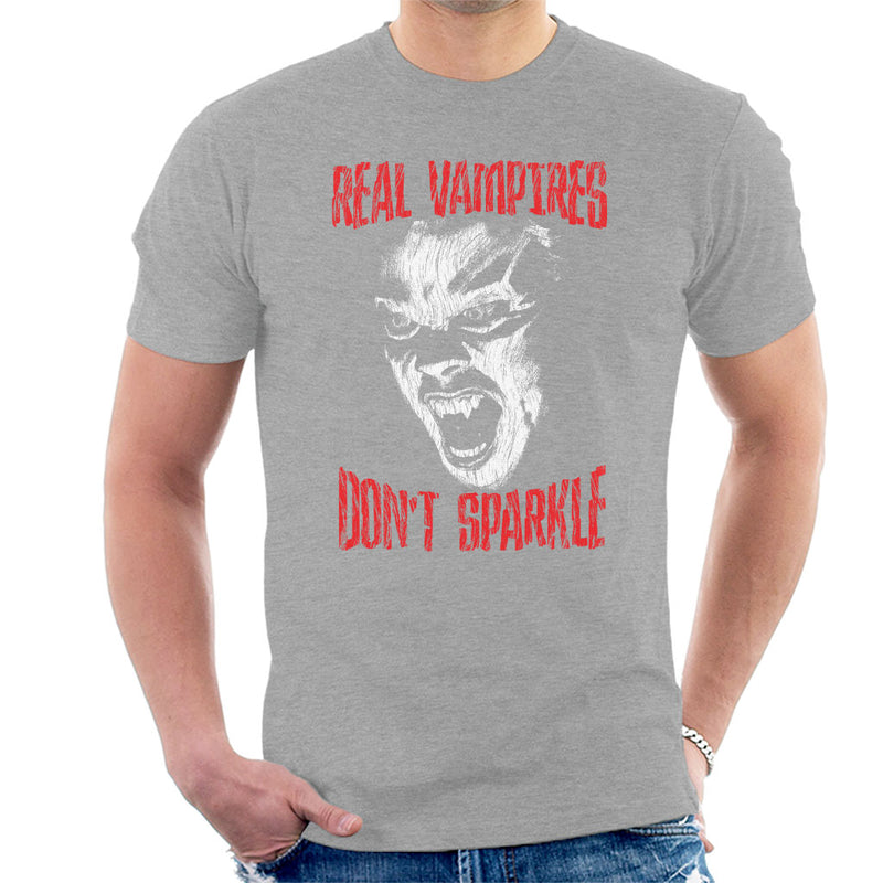 The Lost Boys Real Vampires Dont Sparkle Men's T-Shirt by HappyLlama - Cloud City 7