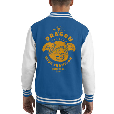 Dragonball Z Dragon Wish Champion Kid's Varsity Jacket by Pigboom - Cloud City 7