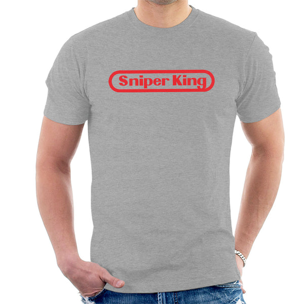 Sniper King Nintendo Logo One Piece Men's T-Shirt