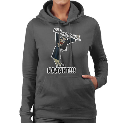 I Did Not Hit Her I Did Naaaht The Room Women's Hooded Sweatshirt by Vinny Palmer - Cloud City 7