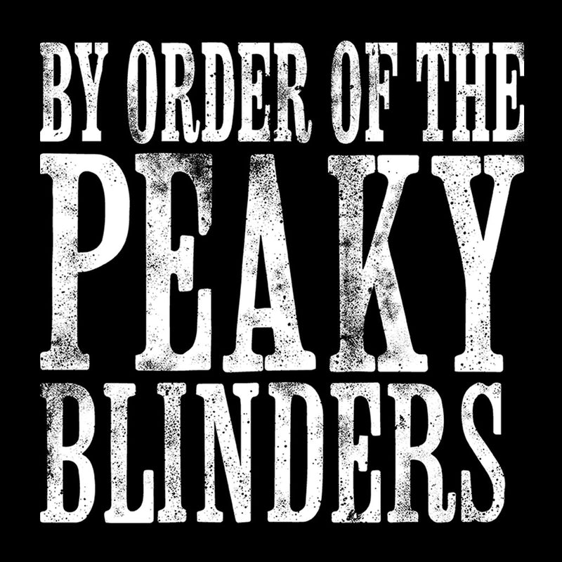 By The Order Of The Peaky Blinders Men's T-Shirt by Sam Green - Cloud City 7