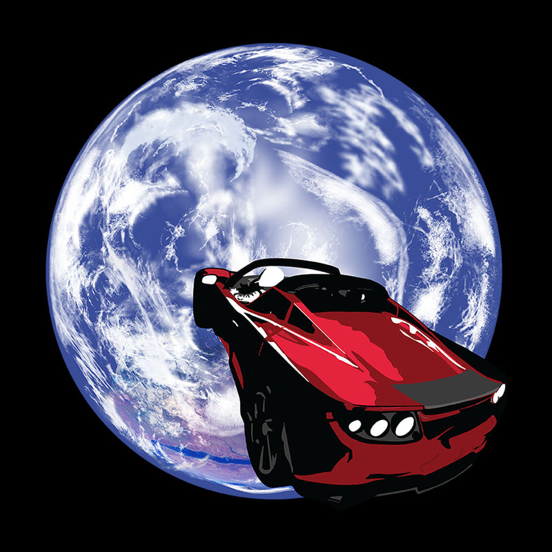 SpaceX Falcon Heavy Launch Tesla Roadster In Space Kid's Varsity Jacket