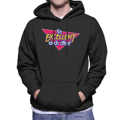 Bill And Ted Be Excellent To Each Other Logo Men's Hooded Sweatshirt by Adho1982 - Cloud City 7
