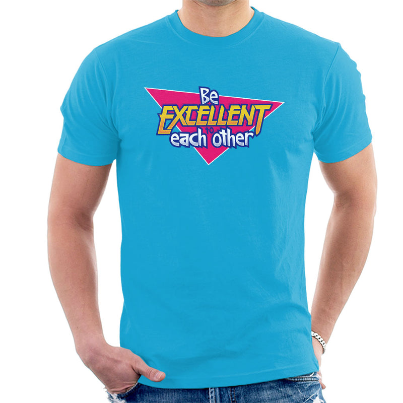 Bill And Ted Be Excellent To Each Other Logo by Adho1982 - Cloud City 7
