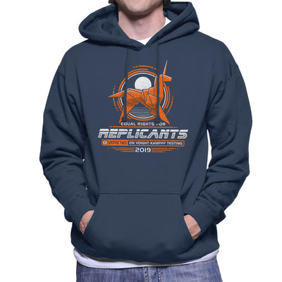 Blade Runner Replicant Rights Men's Hooded Sweatshirt by Adho1982 - Cloud City 7