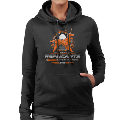 Blade Runner Replicant Rights Women's Hooded Sweatshirt by Adho1982 - Cloud City 7