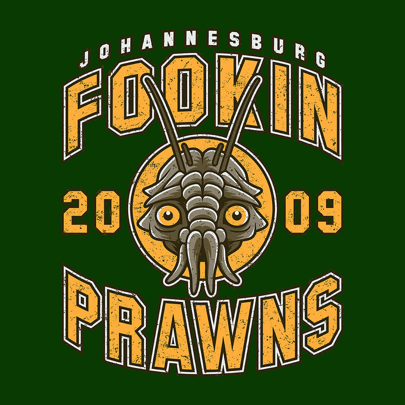 District Nine Fookin Prawns Varsity Logo by Adho1982 - Cloud City 7