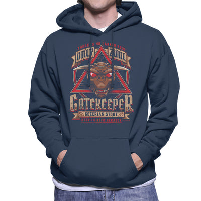 Ghostbusters Gozer Ale Men's Hooded Sweatshirt by Adho1982 - Cloud City 7