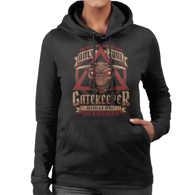 Ghostbusters Gozer Ale Women's Hooded Sweatshirt by Adho1982 - Cloud City 7