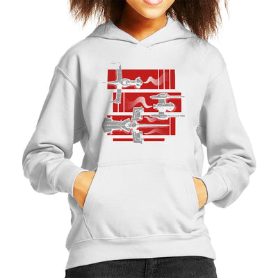 Cowboy Bebop Gateway Shuffle Kid's Hooded Sweatshirt by Adho1982 - Cloud City 7