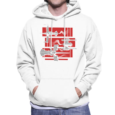 Cowboy Bebop Gateway Shuffle Men's Hooded Sweatshirt by Adho1982 - Cloud City 7