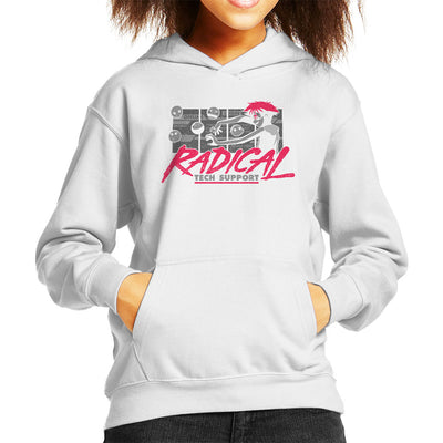 Cowboy Bepop Edward Radical Tech Support Kid's Hooded Sweatshirt by Adho1982 - Cloud City 7