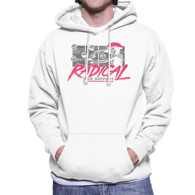 Cowboy Bepop Edward Radical Tech Support Men's Hooded Sweatshirt by Adho1982 - Cloud City 7
