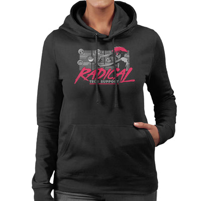 Cowboy Bepop Edward Radical Tech Support Women's Hooded Sweatshirt by Adho1982 - Cloud City 7