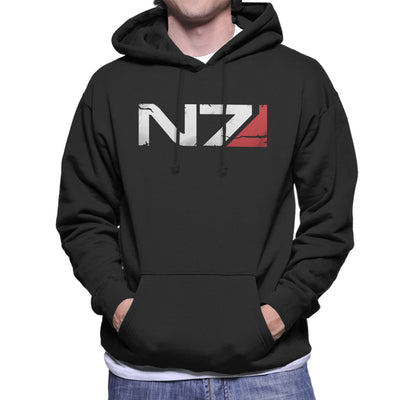 Mass Effect N7 Armour Men's Hooded Sweatshirt by nicksoulart - Cloud City 7