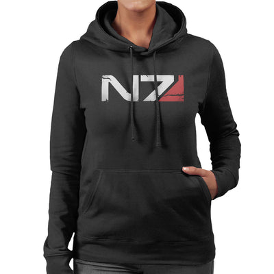 Mass Effect N7 Armour Women's Hooded Sweatshirt by nicksoulart - Cloud City 7