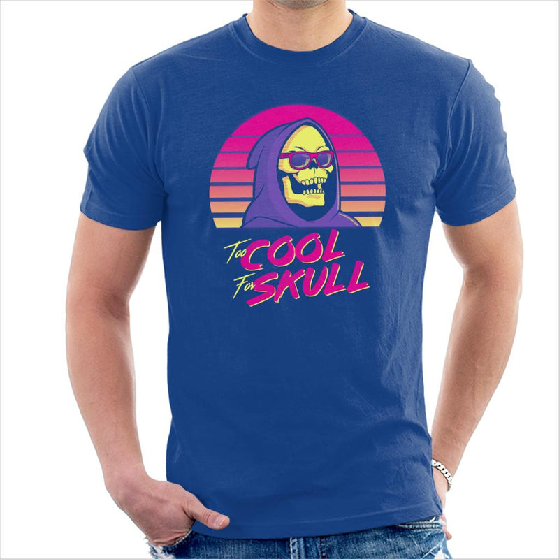 He Man Skeletor To Cool To Skull Men's T-Shirt by Karlangas - Cloud City 7