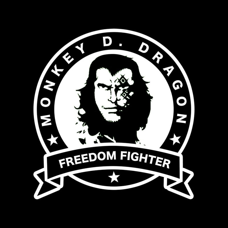 One Piece Monkey D Dragon Freedom Fighter Men's T-Shirt by Carlsoncore - Cloud City 7