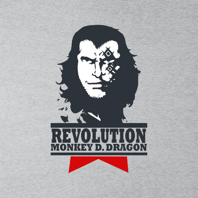 One Piece Monkey D Dragon Revolution Men's T-Shirt by Carlsoncore - Cloud City 7