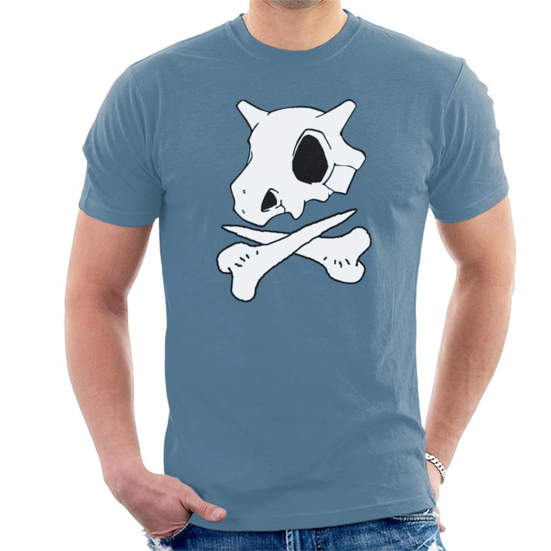 Pokemon Cubone Skull And Crossbones Men's T-Shirt by Carlsoncore - Cloud City 7