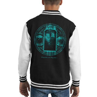 Doctor Who Everywhere And Anywhere Kid's Varsity Jacket by Pigboom - Cloud City 7