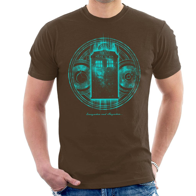 Doctor Who Everywhere And Anywhere Men's T-Shirt by Pigboom - Cloud City 7