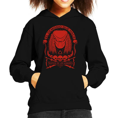 Predator Skull Collector Kid's Hooded Sweatshirt by Pigboom - Cloud City 7