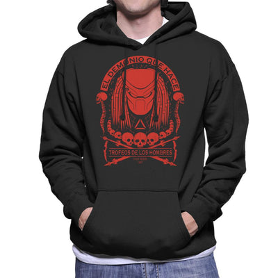 Predator Skull Collector Men's Hooded Sweatshirt by Pigboom - Cloud City 7