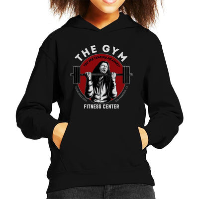 The Gym Tommy Wiseau The Room Kid's Hooded Sweatshirt by Pigboom - Cloud City 7