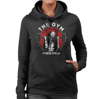 The Gym Tommy Wiseau The Room Women's Hooded Sweatshirt by Pigboom - Cloud City 7