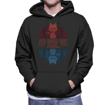 Schrodinger Things Stranger Things Mix Men's Hooded Sweatshirt by Alvaro Tembart - Cloud City 7