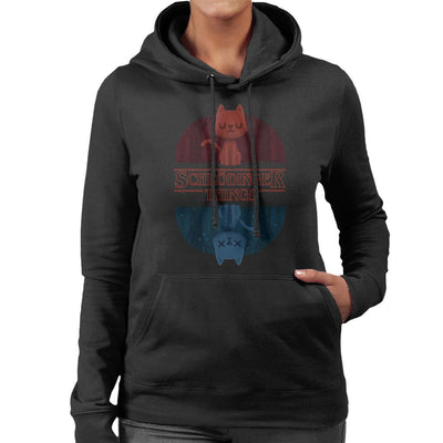 Schrodinger Things Stranger Things Mix Women's Hooded Sweatshirt by Alvaro Tembart - Cloud City 7