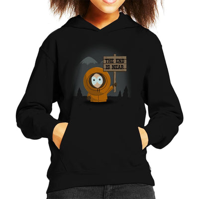 South Park Kenny The End Is Near Kid's Hooded Sweatshirt by Alvaro Tembart - Cloud City 7