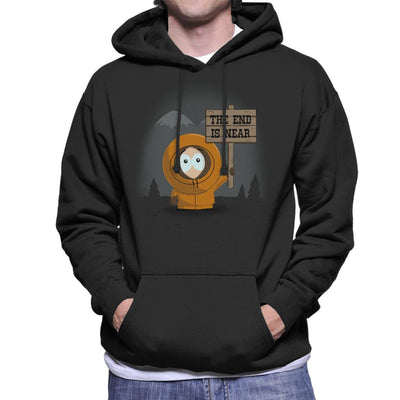 South Park Kenny The End Is Near Men's Hooded Sweatshirt by Alvaro Tembart - Cloud City 7