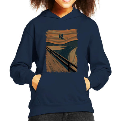 The Silence Scream Picture Mix Kid's Hooded Sweatshirt by Alvaro Tembart - Cloud City 7
