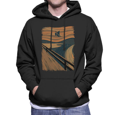The Silence Scream Picture Mix Men's Hooded Sweatshirt by Alvaro Tembart - Cloud City 7