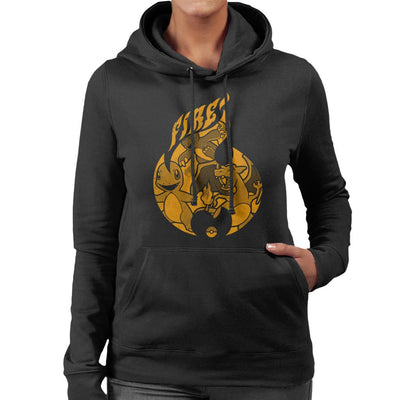 Pokemon Fire Starters Flame Women's Hooded Sweatshirt by Nemons - Cloud City 7