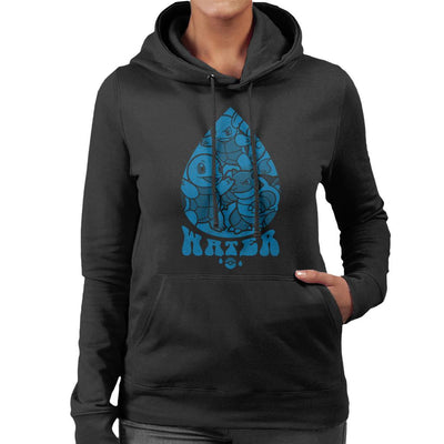 Pokemon Water Starters Droplet Women's Hooded Sweatshirt by Nemons - Cloud City 7