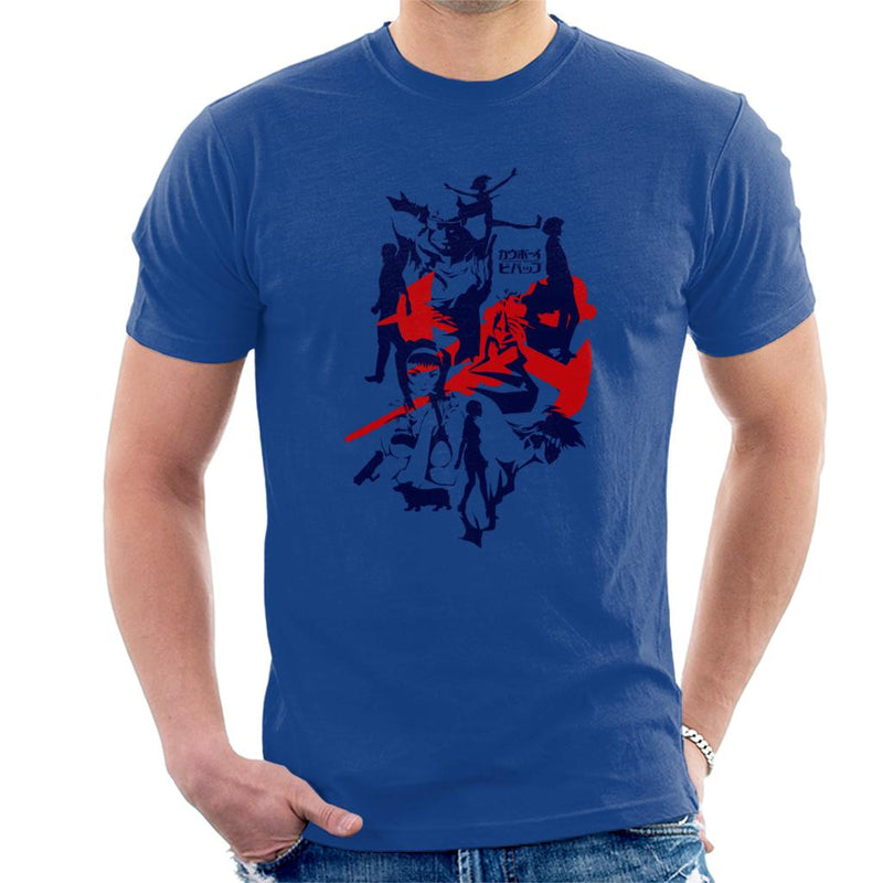 Cowboy Bebop Silhouette Men's T-Shirt by emodistcreates - Cloud City 7