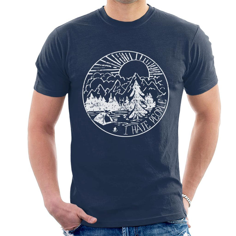 The Great Outdoors I Hate People Mens T Shirt By Glrdokia