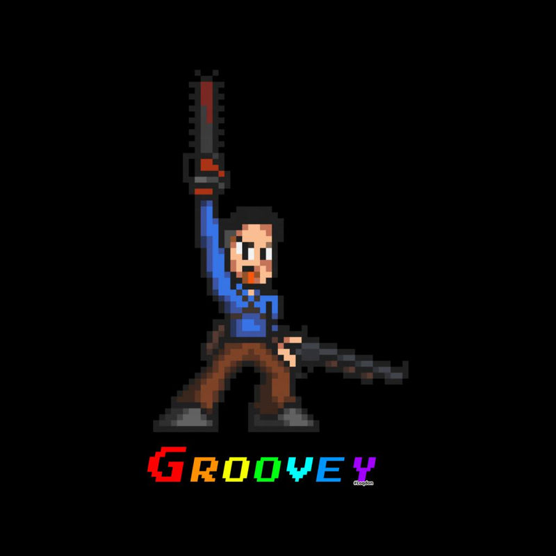 Ash Evil Dead Pixel Chainsaw by Loqd On - Cloud City 7