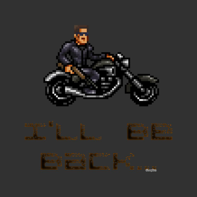 Terminator T3 Ill Be Back Men's T-Shirt by Loqd On - Cloud City 7