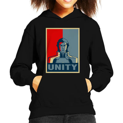 Legend Of Korra Kuvira Unity Kid's Hooded Sweatshirt by Carlsoncore - Cloud City 7
