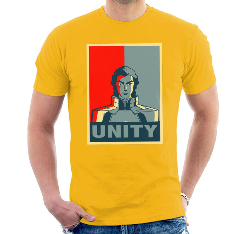 Legend Of Korra Kuvira Unity Men's T-Shirt by Carlsoncore - Cloud City 7