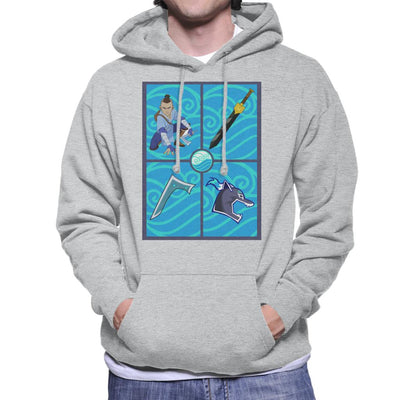 Avatar The Last Airbender Sokka Gear Men's Hooded Sweatshirt by Carlsoncore - Cloud City 7