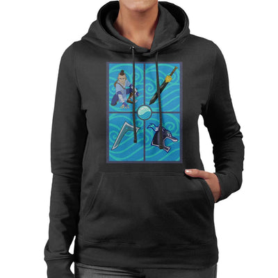 Avatar The Last Airbender Sokka Gear Women's Hooded Sweatshirt by Carlsoncore - Cloud City 7