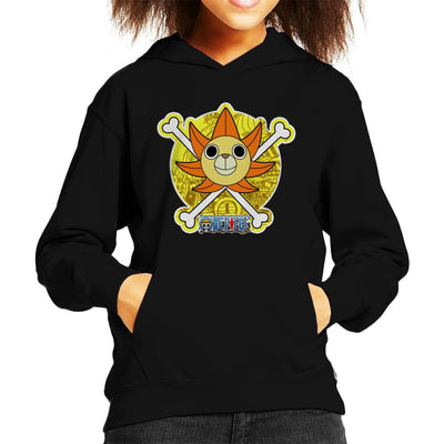 One Piece Thousand Sunny Figurehead Kid's Hooded Sweatshirt by Carlsoncore - Cloud City 7